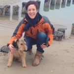 Anja met Welsh terrier Beau